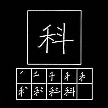 kanji section