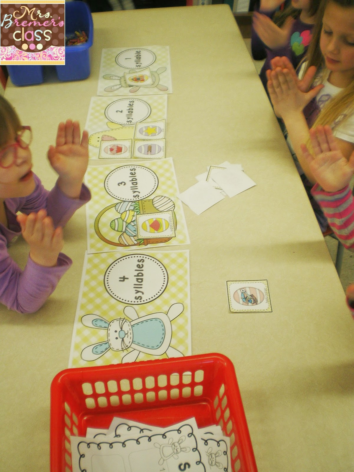Mrs Bremer S Class Easter Syllable Sort Letter Mazes