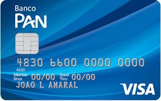 Cartão PAN Visa Internacional