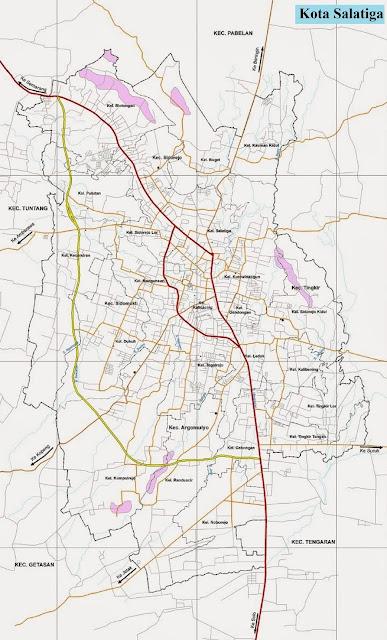 Peta Kota Salatiga HD