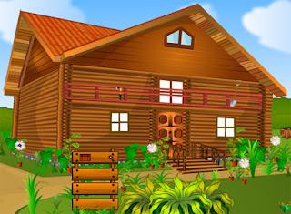 Juego Locked Wooden House Escape