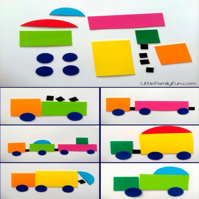 20 Juegos para Aprender las Figuras Geométricas | Materiales ...
