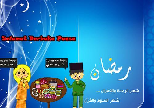 Kumpulan Kata-Kata Ucapan Selamat Berbuka Puasa Ramadhan Romantis Gokil Dan Lucu