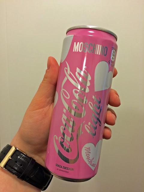 MOSCHINO - Limited Edition Coca Cola Light, man gönnt sich ja sonst nichts ;)