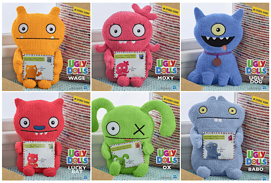 Reveal of UGLY DOLLS Not-So-Ugly-Toys from Hasbro