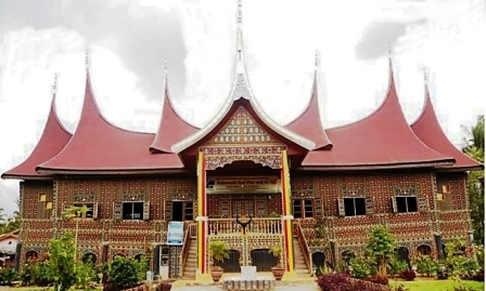 Rumah Gadang Minang Traditional House Intimate Indonesia
