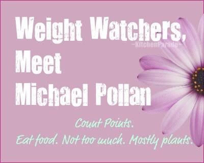Kitchen Parade Weight Watchers, Meet Michael Pollan
