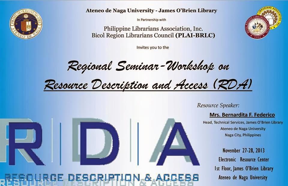 PLAI - Southern Tagalog Region Librarians Council: Seminar