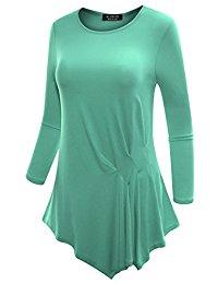 Buy Women's V Neck Sleeveless Tunic Top