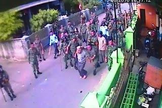 TNI Memukuli Warga Terekam CCTV