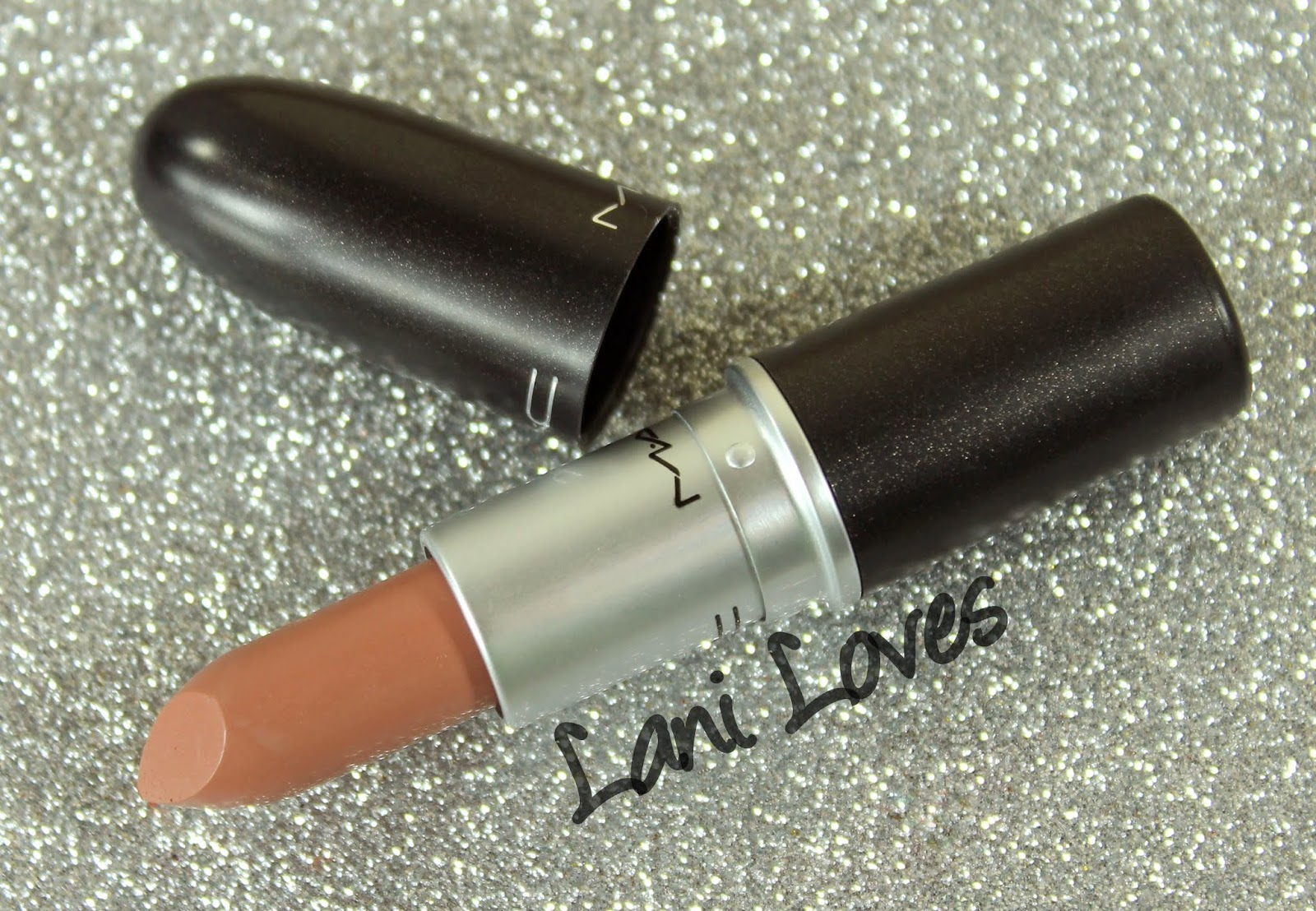 MAC Blankety Lipstick Swatches & Review
