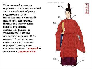 мужская японская одежда кимоно знать