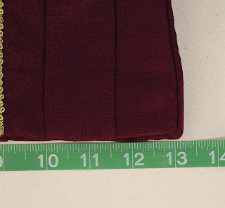 TNG season 1 admiral jacket - side panels