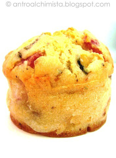 Muffins Salati con Zucchine Grigliate e Pancetta Dolce