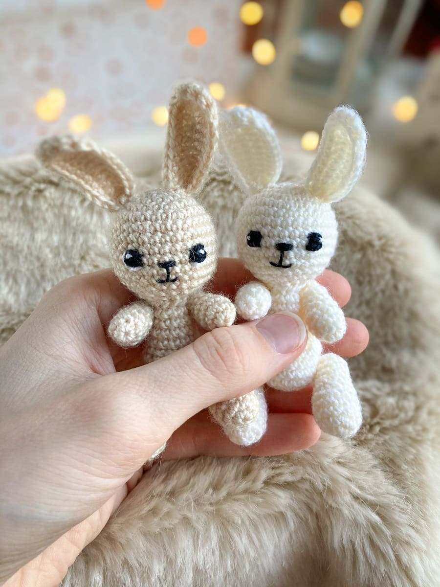 Amigurumi tiny bunnies