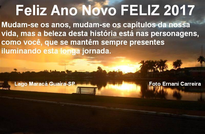 Feliz Ano Novo FELIZ 2017 Happy New Year
