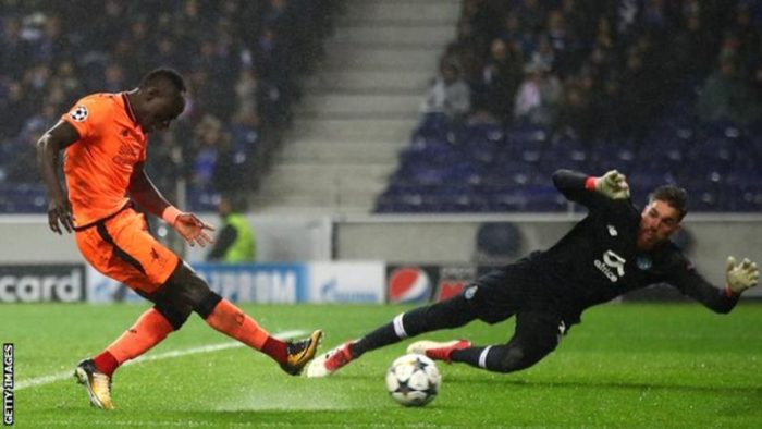 bdabe49fc028 Mane Bags Hat-Trick As Liverpool Run Riot With Goals In Porto