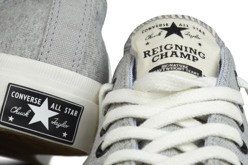 Converse announces the limited-edition Reigning Champ for Converse Chuck  Taylor All Star collection – the latest Converse First String collaboration. d506ff5bd