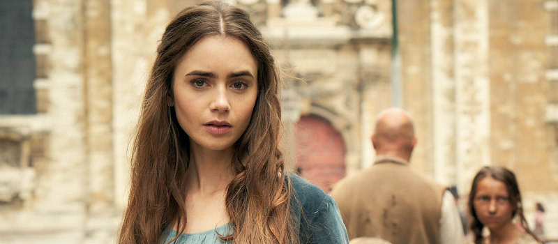 lily collins les miserables