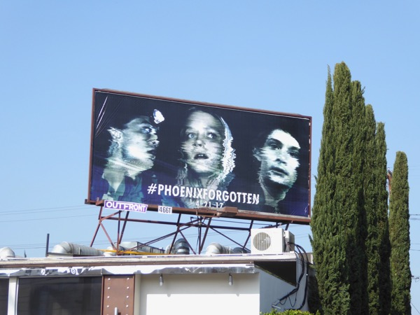 Phoenix Forgotten film billboard