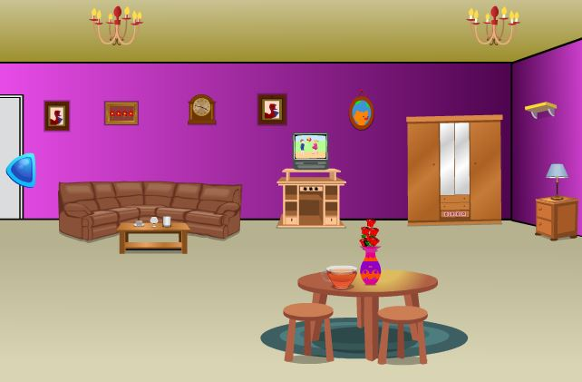 Modern Purple House Escape Walkthrough