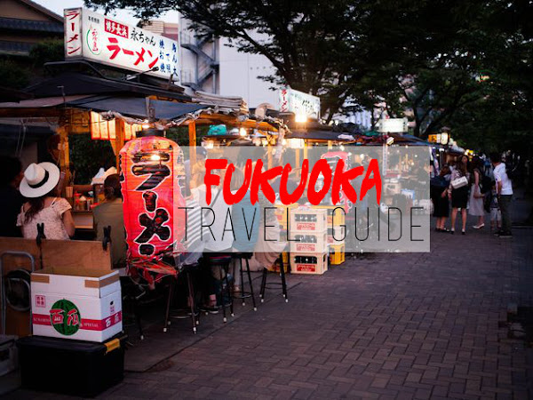 Travel: biking Fukuoka, Ohori park and Yatai