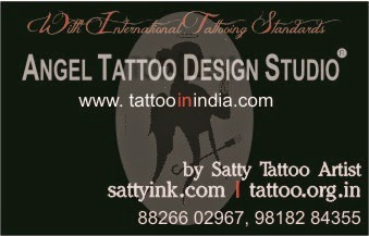 Trishul Tattoo Designs, Hindu Tattoo Designs, OM-Trishul Tattoo Designs