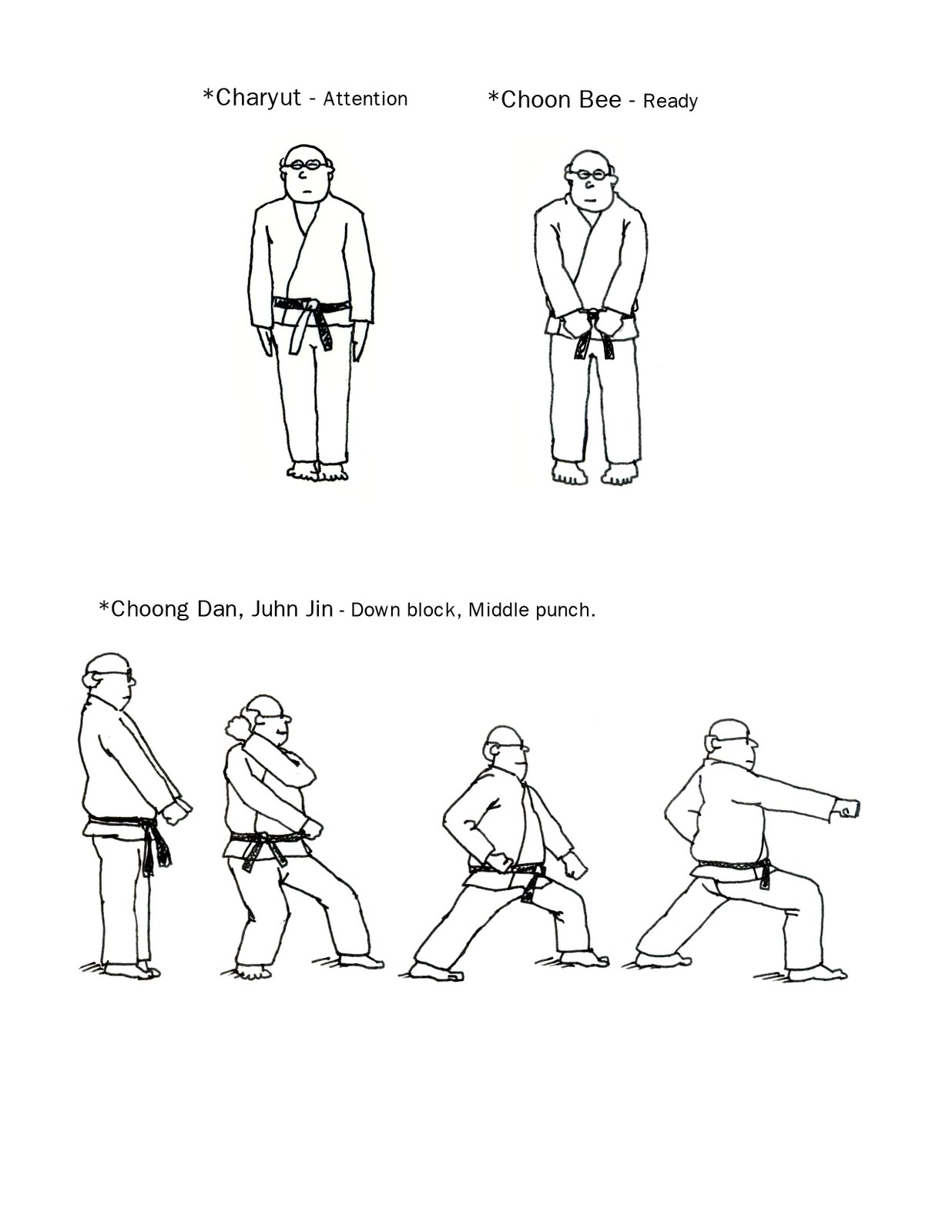 Prairie Martial Arts: Kids Coloring Pages