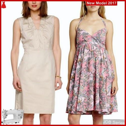 JDB016 FASHION Dress Perempuan Casual Dress BMG