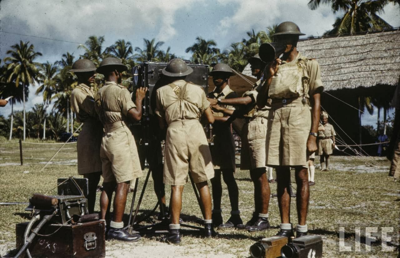 Colour Photos Of Singapore Military In 1941 Vintage Everyday