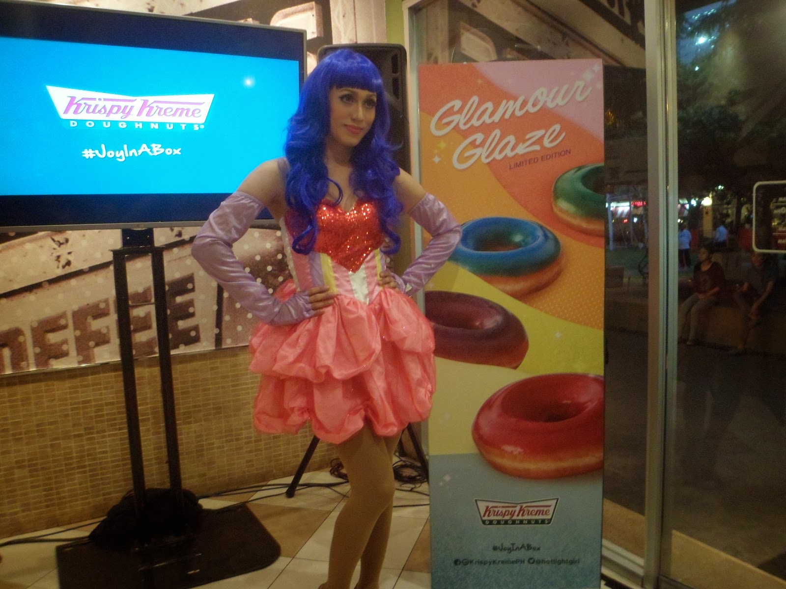 Katy Perry Inspired Doughnuts Only At Krispy Kreme