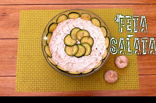 Salata-prilog-feta-sir-krastavci