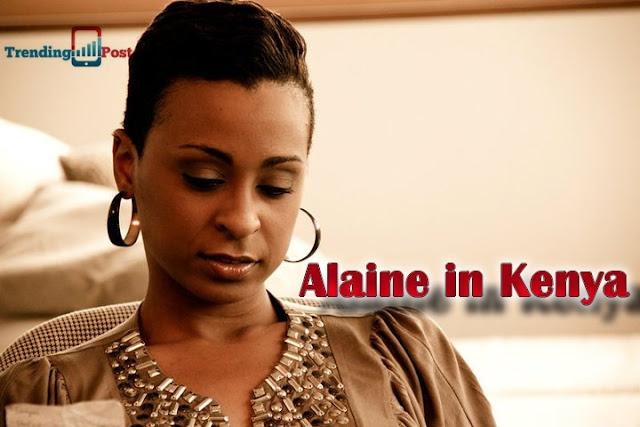 Alaine in Kenya