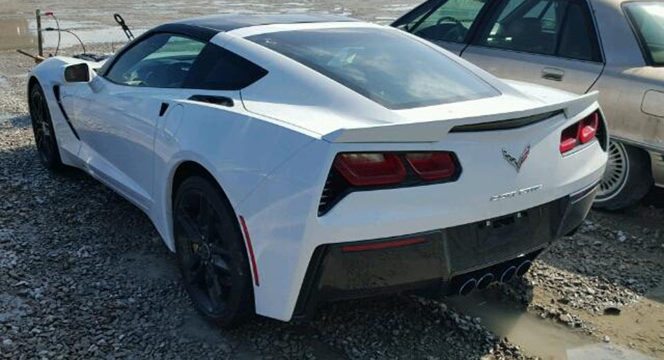 is this flooded chevrolet corvette stingray worth 10k. Cars Review. Best American Auto & Cars Review