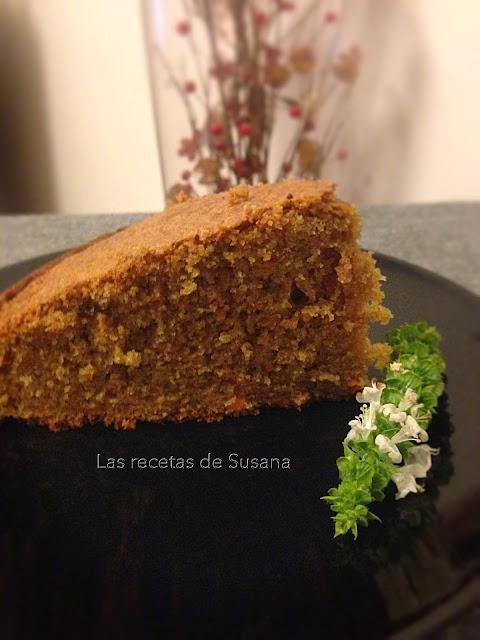 Bizcocho de zanahoria - Las recetas de Susana