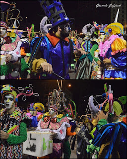 Desfile Inaugural del Carnaval. Uruguay. 2017 Murga La Buchaca