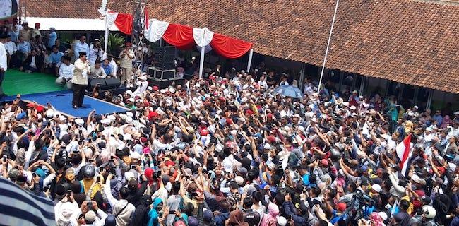 Prabowo Datang, Ponpes NU Ini Berharap Dapatkan Presiden Baru