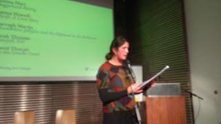 Sarah Thomas reading from her story Rainfell, Fell.