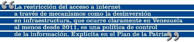 Vivir sin Internet: Cantv desconecta a Venezuela