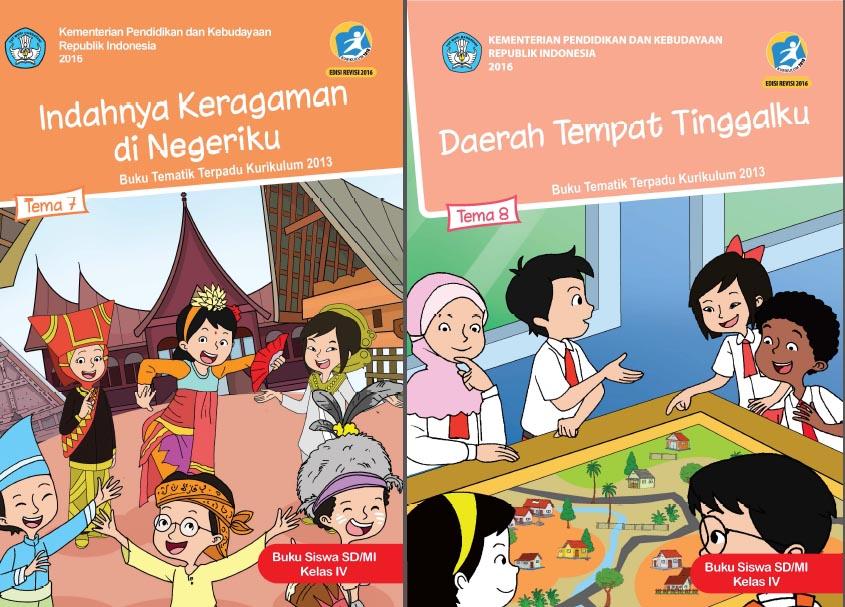 Buku Kurikulum 2013 Sd Mi Kelas 4 Tema 8 Edisi Revisi 2016 Untuk