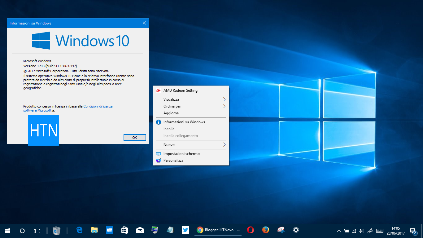 aggiungere-Informazioni-Windows-menu-contestuale-Windows 10