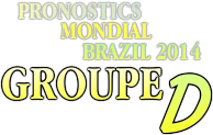 pronostic brazil groupe D