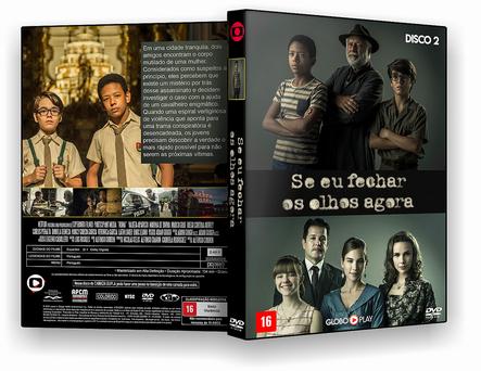 CAPA DVD – SÉRIE Se Eu Fechar Os Olhos Agora T01 D02 – AUTORADO