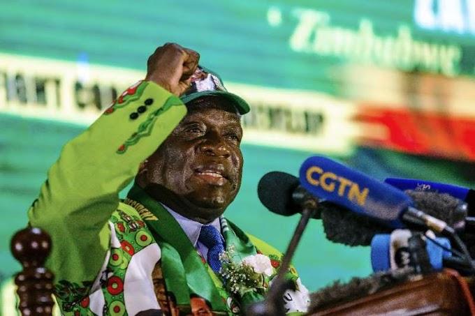 Zimbabwe's president Mnangagwa survives assassination attempt at rally in Bulawayo