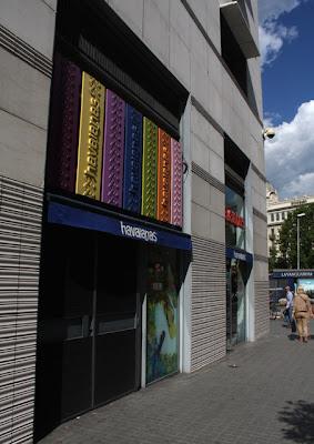 sklepy w Barcelonie el Triangle
