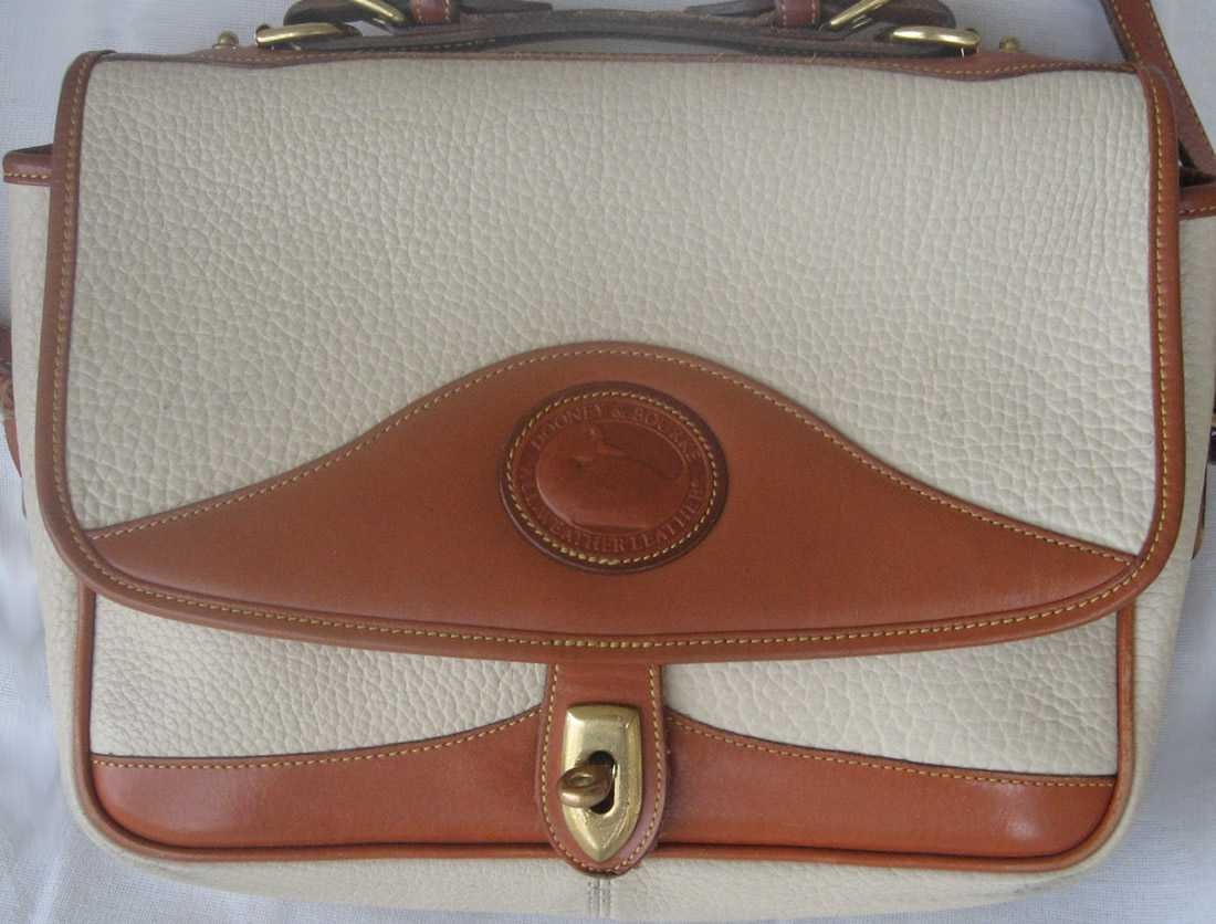 Old Dooney Bourke Two Tone Purse Sold