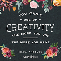 Creativity leads to creativity. quote, Maya Angelou