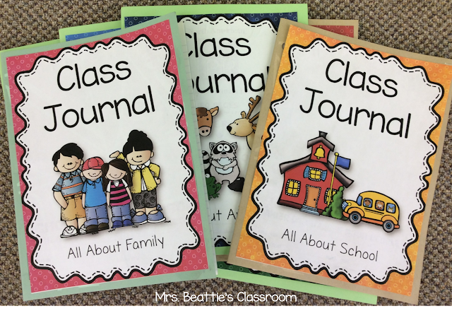 Classroom Design Journal Articles ~ How these free class journals can inspire your writers