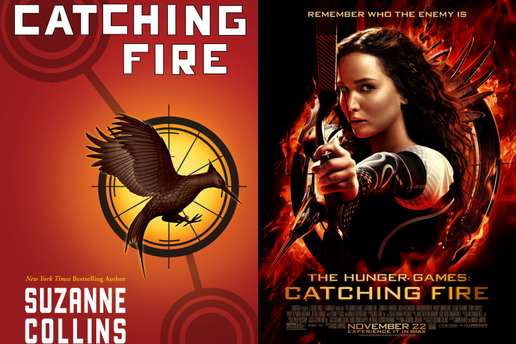 Book vs Movie Catching Fire review