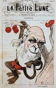 Chareles Darwin mocked